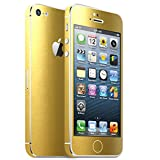 IPHONE 5 GOLD METALLIC MATT FOLIE SKIN ZUM AUFKLEBEN bumper case cover schutzhülle i phone