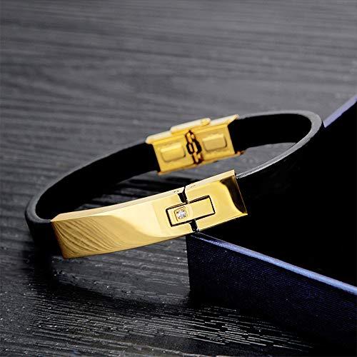 DuDuDu Kreative Diamant Trend mit Titan-Stahl Armband Retro Männer Seil Hand Zubehör - Für Diamant-gold-armbänder Frauen