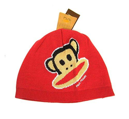 Hut für Kinder Paul Frank Julius Zoom Beanie Rot in Einheitsgröße (Produkte Frank Paul)