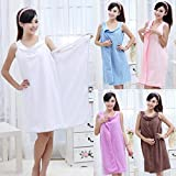 #6: OZOY Bath TA Robe A Convenient Wearable Towel Free Size Assorted Color
