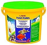 sera 07075 pond flakes 3800 ml - das lange schwimmende