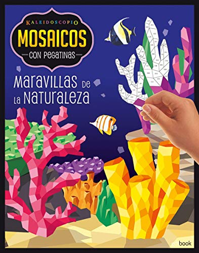 KALEIDOSCOPIO- MOSAICOS CON PEGATINAS PARA ADULTOS- MARAVILLAS NATURALEZA: Kaleidoscopio - mosaicos/pegatinas adultos - maravillas naturaleza: 3 por Vv.Aa