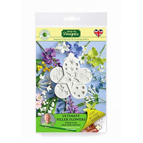 Ultimate Filler Flowers, Flower Pro von Nicholas Lodge für Kuchen dekorieren, Basteln, Cupcakes, Sugarcraft und Süßigkeiten, lebensmittelecht, UK gemacht