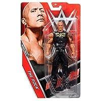 WWE Serie Basic 48.5 Action Figure - The Rock 'Squadra Portare it' maglietta - Nuovissimi in scatola
