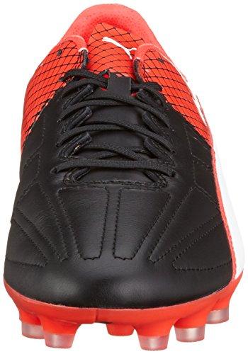 Puma Evospeed 1.5 Lth Ag, Chaussures de Football Compétition Homme Noir - Schwarz (puma black-puma White-Red blast 01)