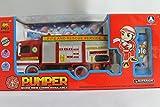 Feuerwehr-Spielzeugauto mit Seifenblasenmaschine, für Kinder, Geschenk