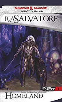 Homeland: The Legend of Drizzt, Book I: Bk. 1