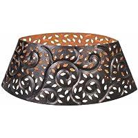 Woodwick HearthWick Bougie Abat-jour–Feuille de Lumineux Ellipse Abat-jour, Bronze