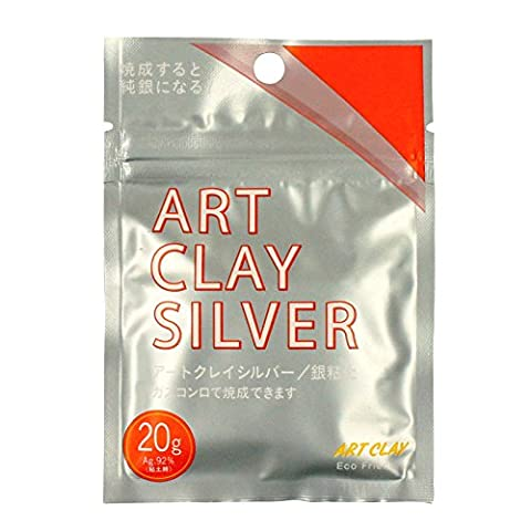 Art Clay Silver 650/1200 Low Fire Clay 20G