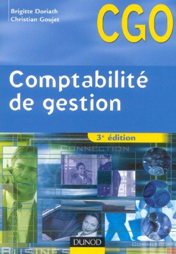 Comptabilité de gestion BTS CGO : Processus 7 : Détermination et analyse des coûts