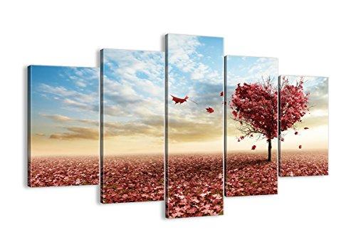 Cuadro sobre lienzo - 5 piezas - Impresión en lienzo - Ancho: 150cm, Altura: 100cm - Foto número 2609 - listo para colgar - en un marco - EA150x100-2609