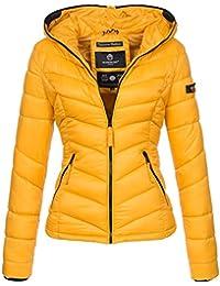 Marikoo Damen Jacke Stepp leichte Herbst Winter Übergangsjacke XS-XXL