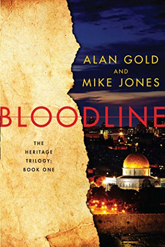 Bloodline: The Heritage Trilogy: Book One Middle East Wall Map