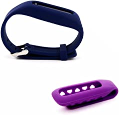 Dunfire Dunfire Colorful Replacement Clip Holder + Wristband 2pcs Set for Fitbit One Wireless Activity Plus Sleep Tracker