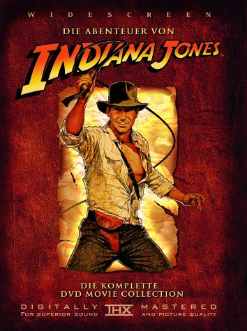Paramount Home Entertainment Indiana Jones - Die komplette DVD Movie Collection