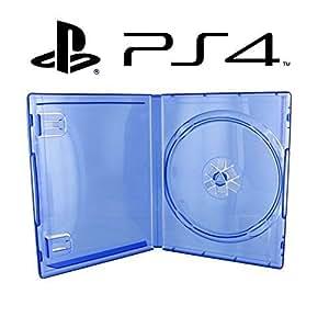 Boitier officiel bleu de remplacement pour jeux Playstation 4
