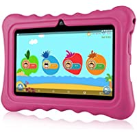 """Ainol Tablette Enfant, Q88 - Android 7.1 7"""", 1Go RAM 16Go ROM,Poids Léger Portable, Kid-Proof, Silicone Housse de Béquille, Disponible avec iWawa pour Les Enfants Éducation Divertissement"""