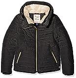 TOM TAILOR Kids Mädchen Jacke Jacket with Plush Collar, Grau (Phantom Dark Grey 2625), (Herstellergröße: 140)