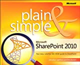 Learn the simplest ways to get things done with Microsoft SharePoint 2010! Here's WHAT You'll Learn  Manage and share team information in one location Use project task lists to organize people and processes  Create libraries for documents, media, sli...