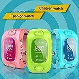 KOBWA Smart Watch für Kinder, 0,96 Zoll GPS Tracker(Wecker Stellen, Telefonieren, GPS Orten, Fern Reden, Schritte Zählen Usw.) für IPhone, Samsung - 6