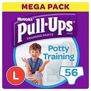 Huggies Pull-Ups Potty Training Pants for Boys, Large, 56 pants