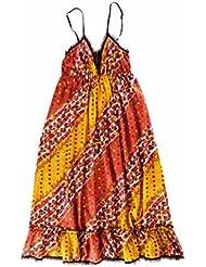 SMASH Barcelone Robe de plage Orange Eté Femme TRUDY