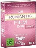 DVD Cover 'Die Romantic Film Box - 3 Romantic Comedy Filme in einer Box: Liebe um jeden Preis, Wer ist die Braut, Liebe ist Nervensache (3 DVDs)