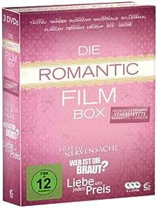 Die Romantic Film Box - 3 Romantic Comedy Filme in einer Box: Liebe um jeden Preis, Wer ist die Braut, Liebe ist Nervensache (3 DVDs)