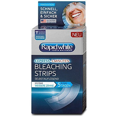Rapid White Express Bleaching Strips for teeth...