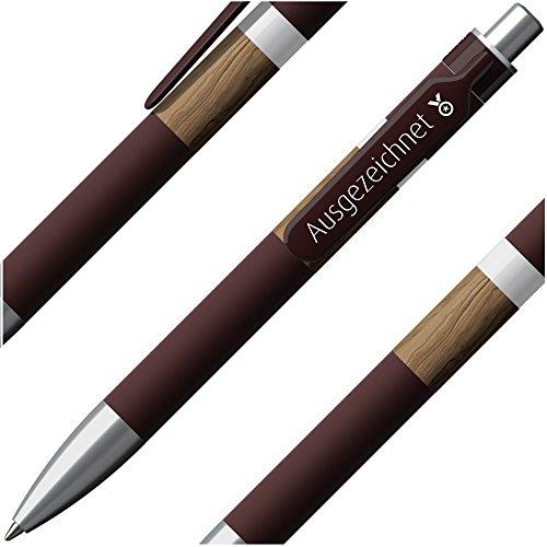 Ausgezeichnet DNA Prodir Kugelschreiber (1 Stück), The New Identity Pen, 1.4mm Floating Ball - Elegantes Incentive bzw. Mitarbeiter-Geschenk/Auszeichnung - @immi.de, prodir® - Swiss made
