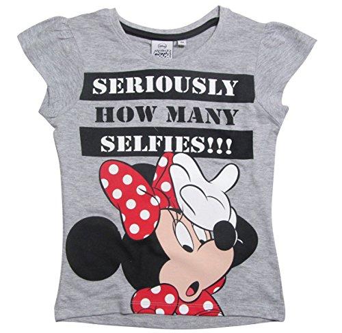Schlafanzug Damen Pyjama kurz Hello Kitty Mouse Shorty Set Grau Weiß