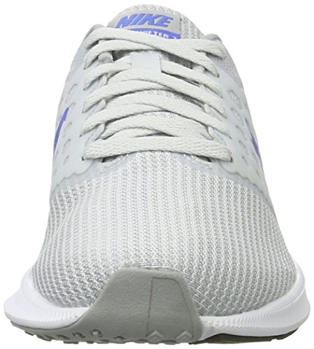Nike Downshifter 7, Scarpe Sportive Outdoor Donna Grigio (Pr Pltnm/md Bl-wlf Gry-white)