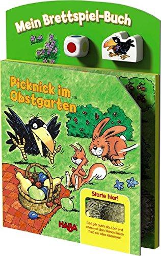 HABA 5286 - Mein Spielplanbuch - Picknick im Obstgarten