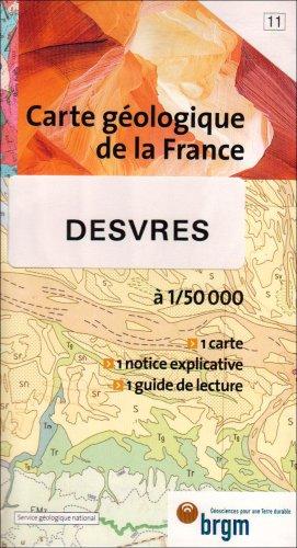 Carte géologique : Desvres par Cartes BRGM