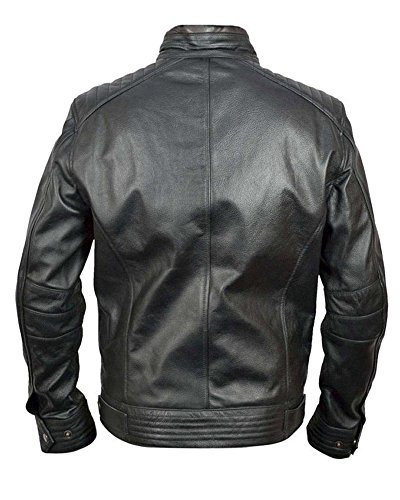 classyak Herren Fashion Kreuz hohe Qualität Legacy Jacke Cow Black