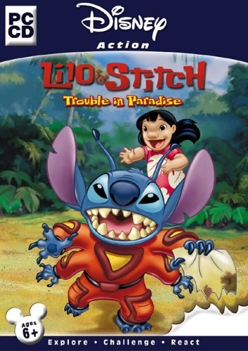 Disney Action Games Lilo & Stitch Trouble in Paradise -