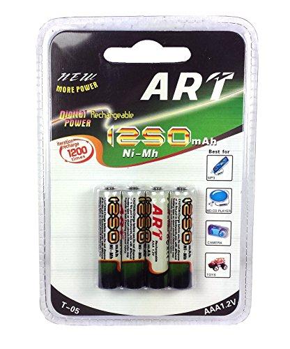 Galleria fotografica DOBO® 20 Batterie stilo AAA ricaricabili 5 pacchetti 1250mAh 1.2V pile
