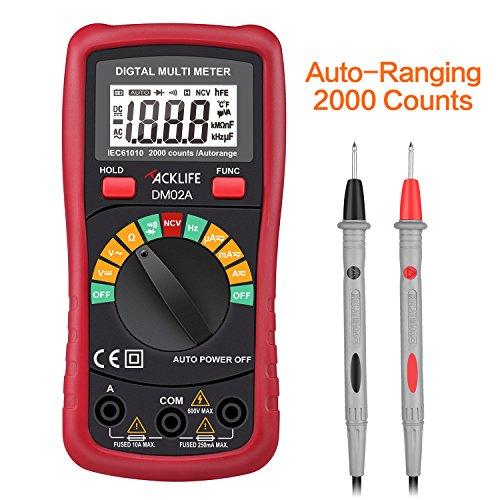 Tacklife-DM02A-Multmetro-digital-con-diodo-Auto-Ranging-Medir-sin-ContactoCounts-2000Resistencia-20m-VoltajeCorriente-ACDC