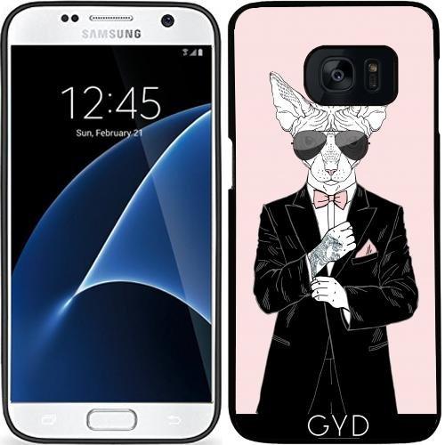 Custodia in silicone per Samsung Galaxy S7 (SM-G930) - Cool Guy by Olga Angelloz Design