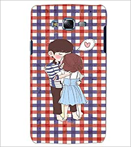 PrintDhaba Couple D-3049 Back Case Cover for SAMSUNG GALAXY J5 (Multi-Coloured)