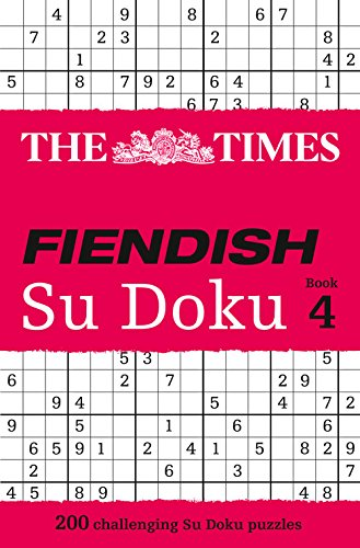 The Times Fiendish Su Doku Book 4 por The Times Mind Games