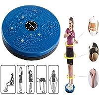 Twist Cintura Torsión Disc Junta Ejercicio Aeróbico Fitness Reflexología Imanes Balance Equipo de Ejercicio Junta (Azul)