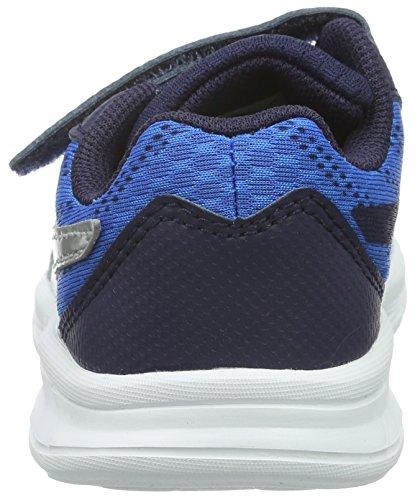 Puma Meteor V, Baskets Basses Mixte Enfant Bleu - Blau (Electric Blue lemonade-puma Silver 01)