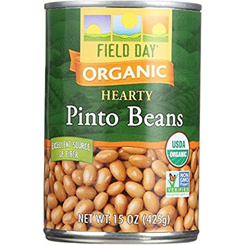Field Day Pinto Beans 15 Oz (Pack of 12)