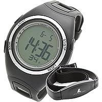 LAD WEATHER Cardiofréquencemètres montre avec Sangle thoracique Jogging/Marche/Courir Homme Sportif montre