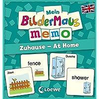 Mein-Bildermaus-Memo-Englisch-Zuhause-At-Home-Kinderspiel Mein Bildermaus-Memo – Englisch – Zuhause – At Home (Kinderspiel) -