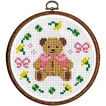 Orimupasu hizo kit bordado oso de peluche No.7419 (jap?n importaci?n)