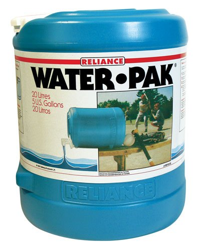 Reliance Prodotti Acqua-Pak 5 galloni a forma di botte contenitore dell'acqua