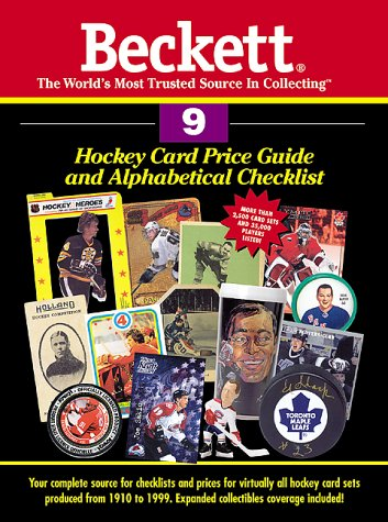 Beckett Hockey Card Price Guide & Alphabetical Checklist: 9 (Beckett Hockey Card Price Guide, No. 9)