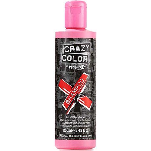 Crazy Color Vibrant Shampoo Red (250ml)